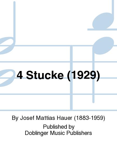4 Stucke (1929)