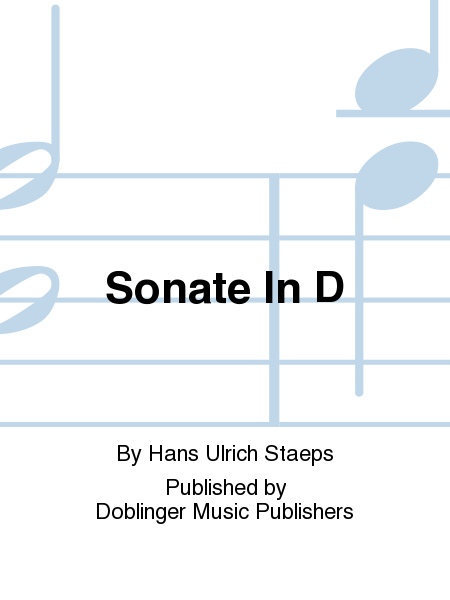 Sonate In D