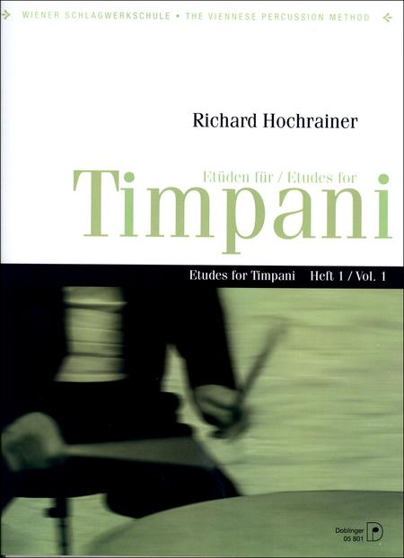 Etuden fur Timpani Heft 1