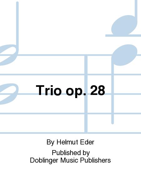 Trio op. 28