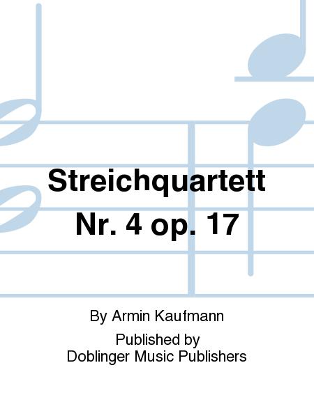 Streichquartett Nr. 4 op. 17