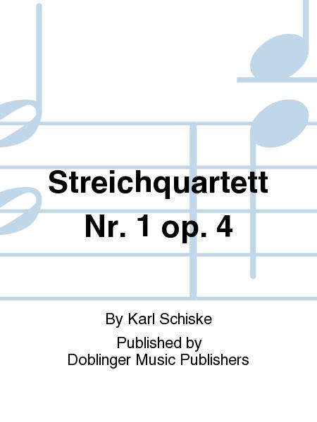 Streichquartett Nr. 1 op. 4