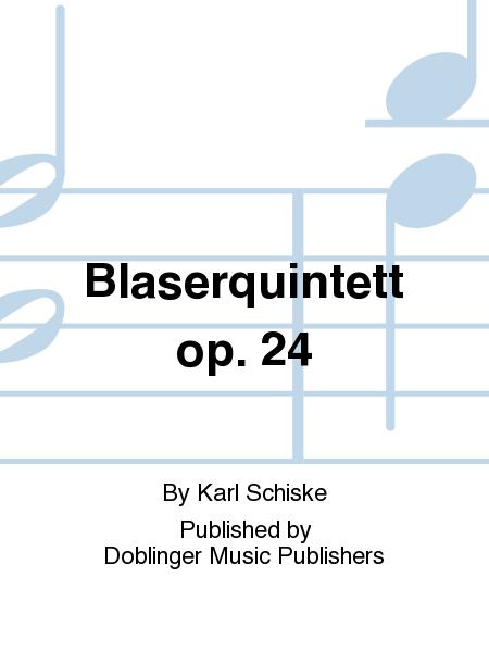 Blaserquintett op. 24