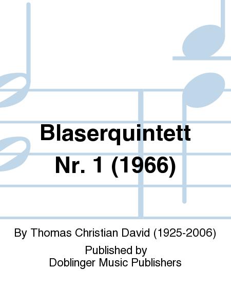 Blaserquintett Nr. 1 (1966)