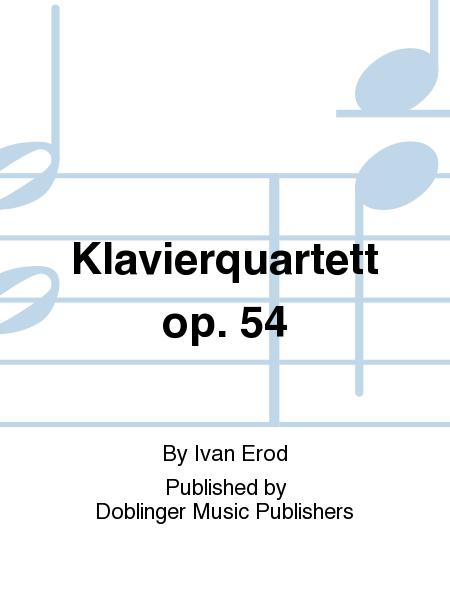 Klavierquartett op. 54