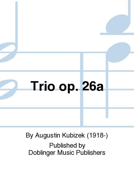 Trio op. 26a