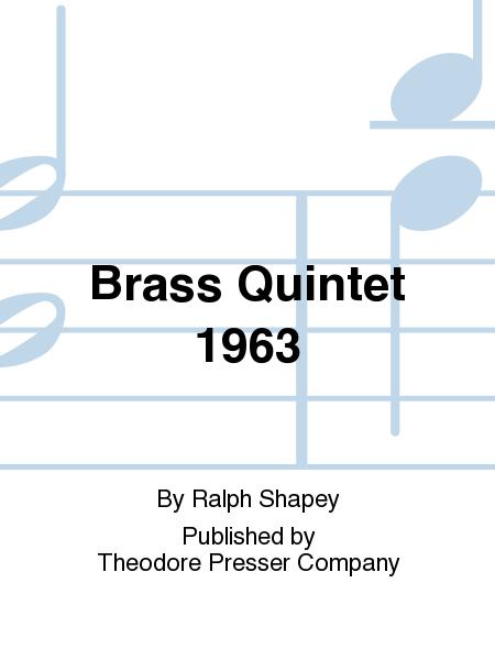 Brass Quintet 1963