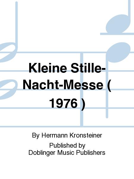 Kleine Stille-Nacht-Messe ( 1976 )