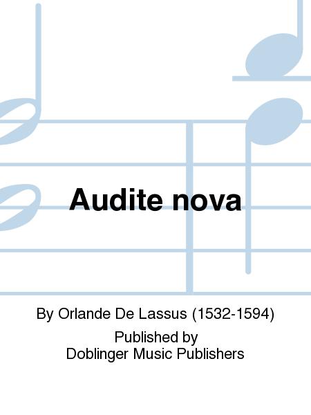 Audite nova