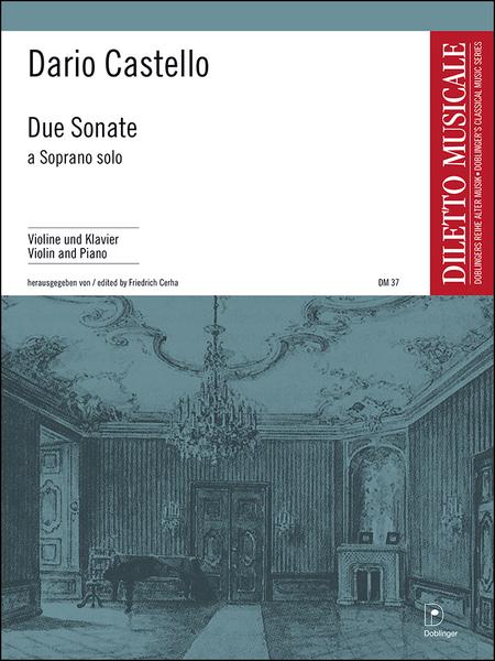 Due Sonate a Soprano solo in a und d