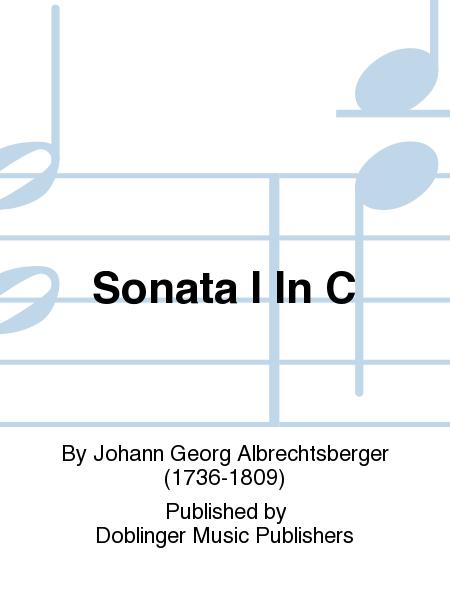 Sonata I In C