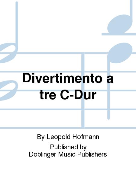 Divertimento a tre C-Dur