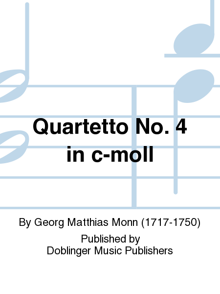 Quartetto No. 4 in c-moll