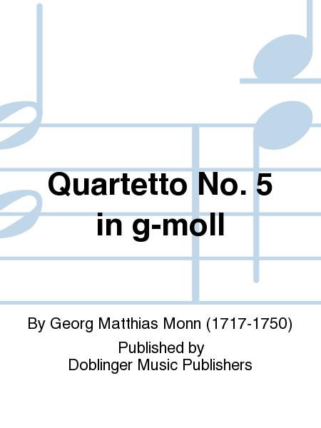 Quartetto No. 5 in g-moll