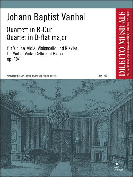 Klavierquartett Nr. 3 in B-Dur op. 40 / 3