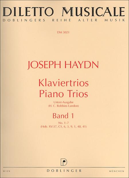 Klaviertrios Band 1 Nr. 1-7