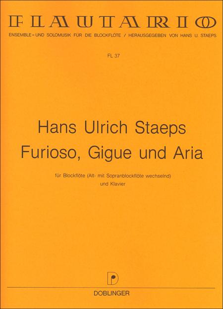 Furioso, Gigue und Aria