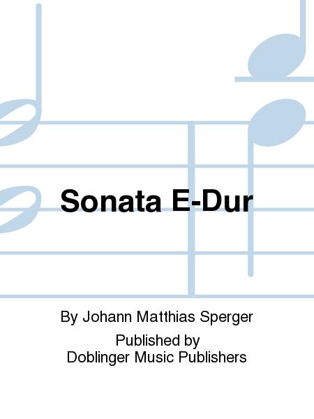 Sonata E-Dur