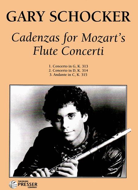 Cadenzas For Mozart's Flute Concerti