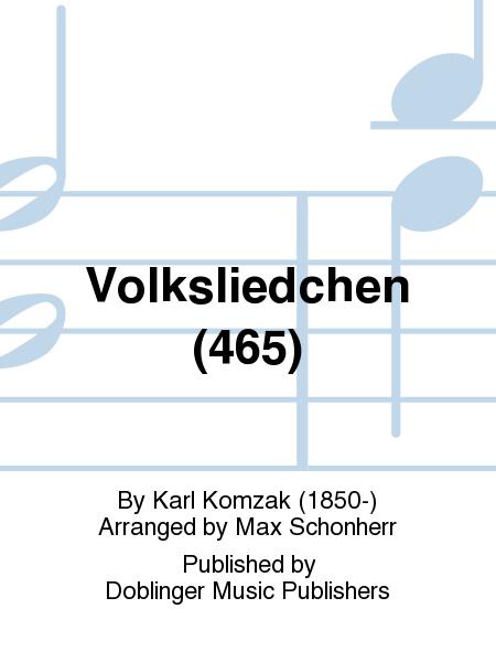 Volksliedchen (465)