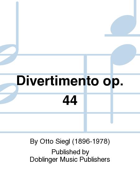 Divertimento op. 44