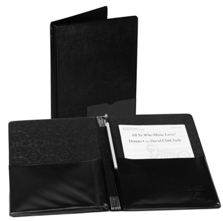 Folder - Deluxe Choral Concert (Black)