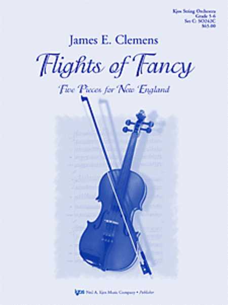 Flights of Fancy (Five Pieces for New England) - Score