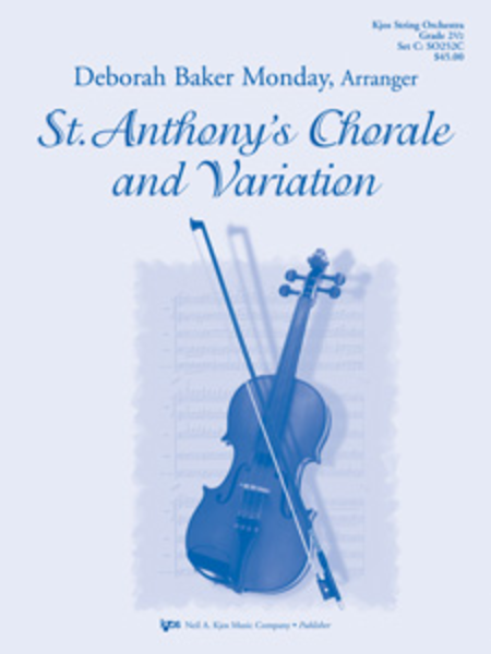 St. Anthony's Chorale and Variation