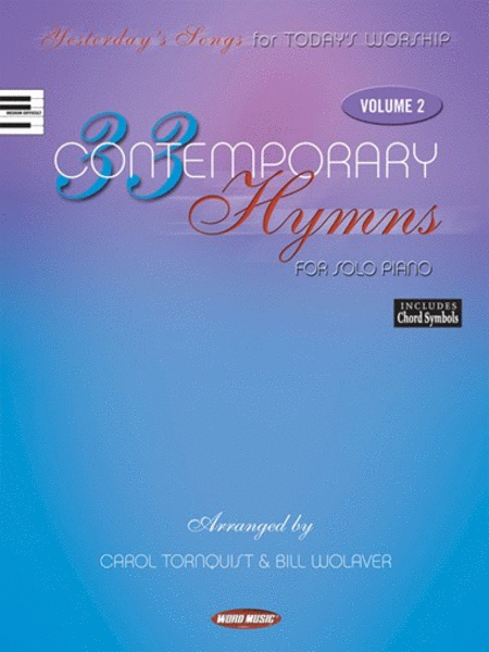 33 Contemporary Hymns for Solo Piano - Volume 2