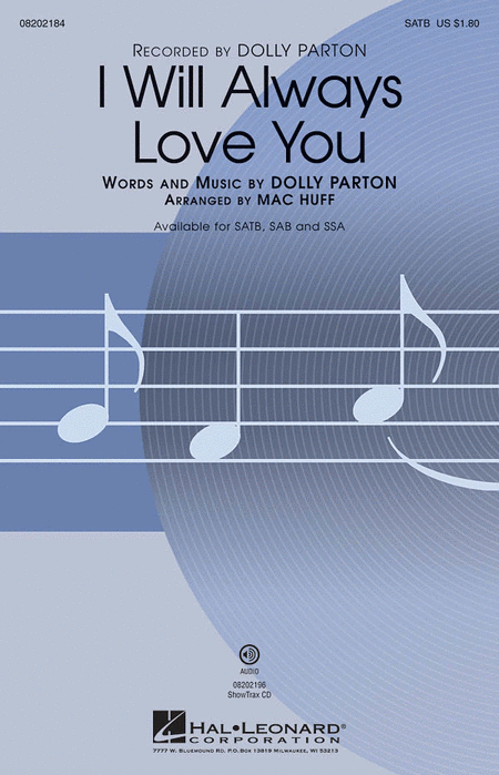 I Will Always Love You - ShowTrax CD