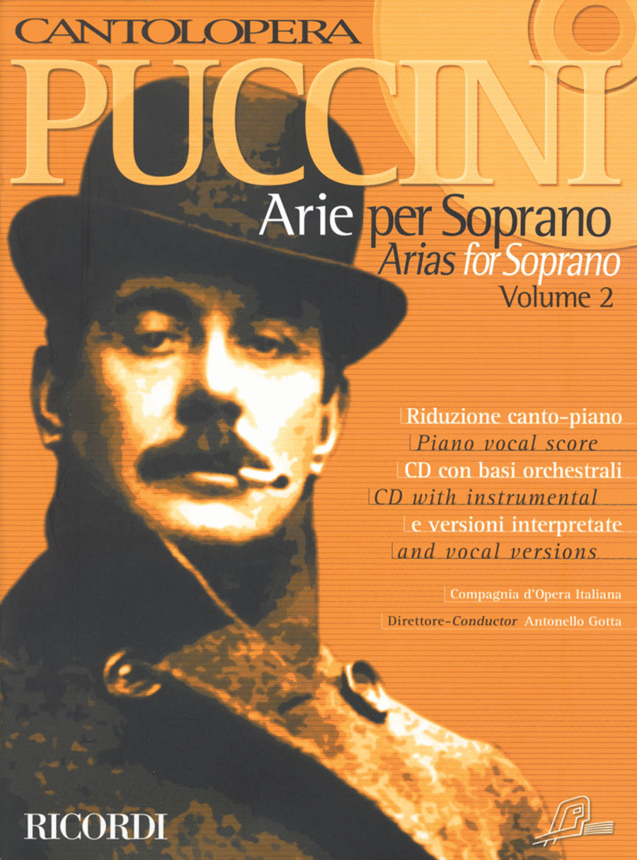 Cantolopera: Puccini Arias for Soprano - Volume 2