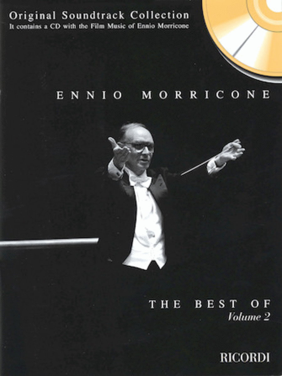 The Best Of Ennio Morricone Volume 2 Piano Book/CD