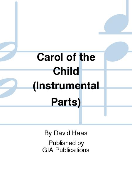 Carol of the Child (Instrumental Parts)