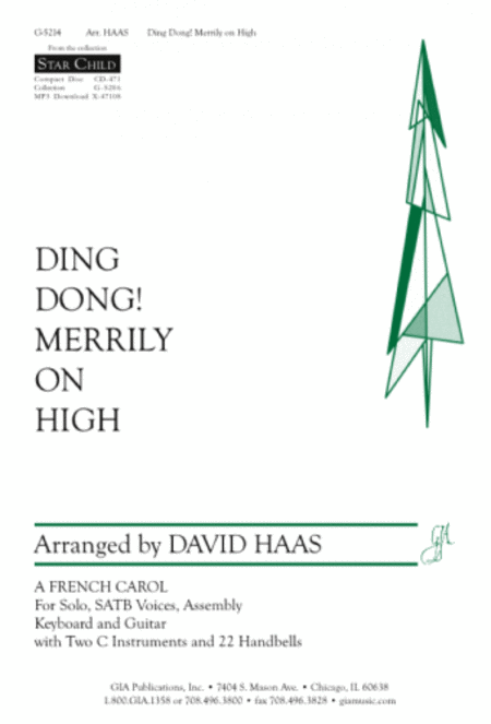 Ding Dong Merrily on High (Instrumental Parts)
