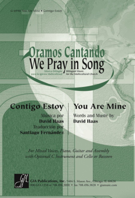 You Are Mine / Contigo Estoy - Instrument edition