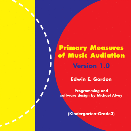 Primary Measures of Music Audiation (K-Grade 3) on CD-ROM (Site License)