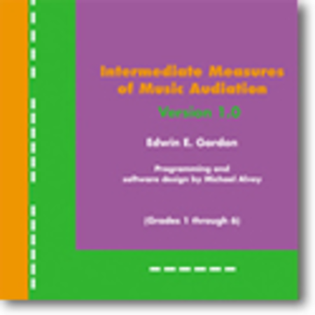Intermediate Measures of Music Audiation (Grade 1-6) on CD-ROM