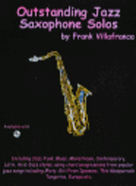 Outstanding Jazz Saxophone Solos for Eb instruments
