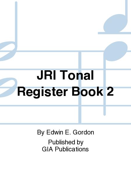 JRI Tonal Register Book 2