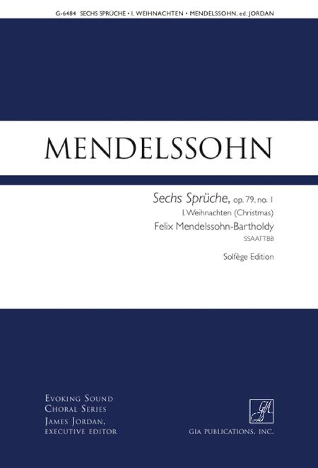 Weihnachten (from Sechs Spruche, Op. 79)