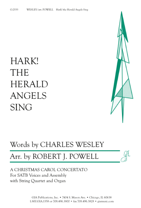 Hark! the Herald Angels Sing (Instrumental Parts)