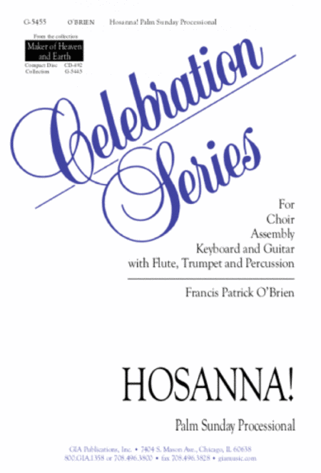 Hosanna! Palm Sunday Processional (Instrumental Parts)