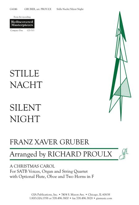 Silent Night - Full Score plus parts