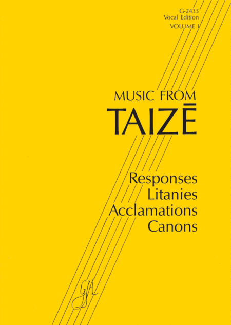 Music from Taize, Volume 1 - Instrumental Edition