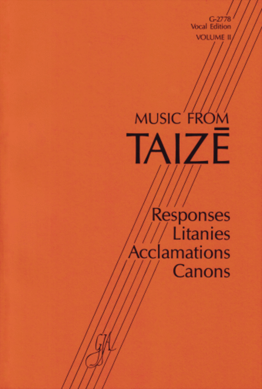 Music from Taize (Volume 2 Instrumental Parts)