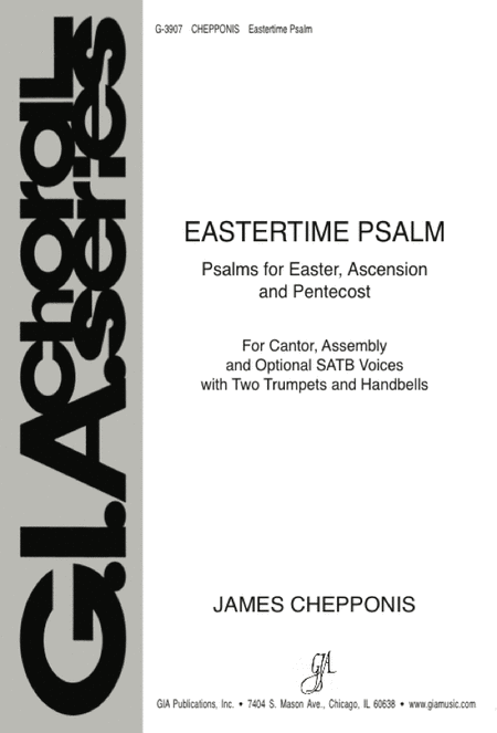Eastertime Psalm: Psalms for Easter, Ascension, and Pentecost (Instrumental Parts)