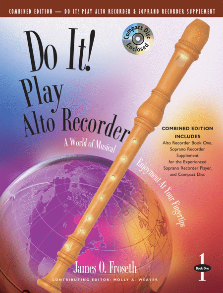 Do It! Play Alto Recorder & Soprano Recorder with CD