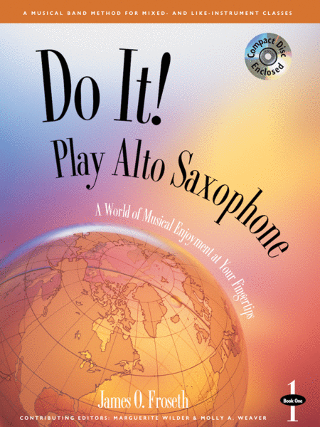 Do It! Play Alto Sax - Book 1 & CD