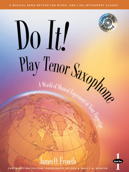 Do It! Play Tenor Sax Book 1 & CD