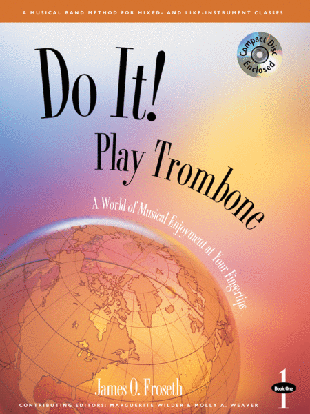 Do It! Play Trombone - Book 1 & CD